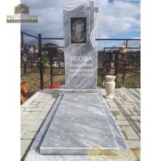 Памятник из мрамора стандарт 53 — ritualum.ru