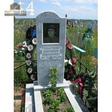 Памятник из мрамора стандарт 44 — ritualum.ru